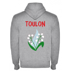 Veste zippée adulte Toulon