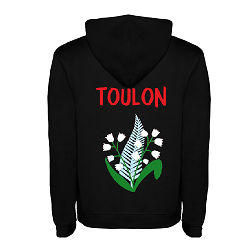 Sweat capuche logo Toulon